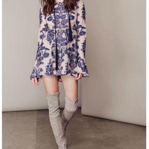 For Love And Lemons Dresses - For Love and Lemons Mini Temecula Dress